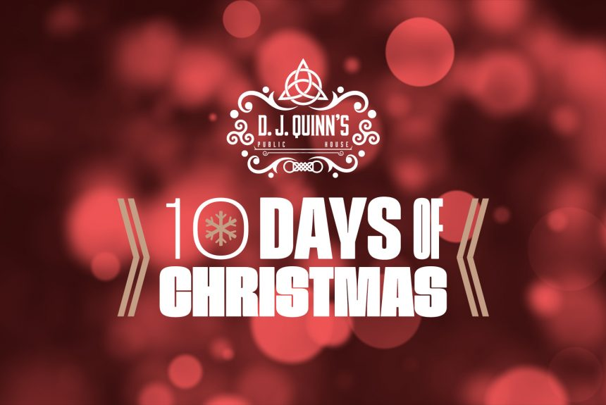 10 Days of live music and festivities this Christmas!
